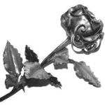 Розы, заклепки